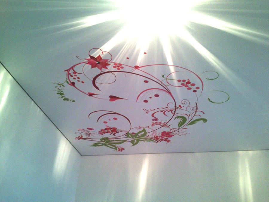 оформления заявки брак фотопечати на натяжном потолке любимого